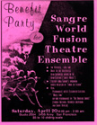 Sangre World Theater Benefit 4/20/91